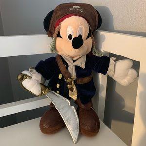Mickey Mouse Jack Sparrow plush